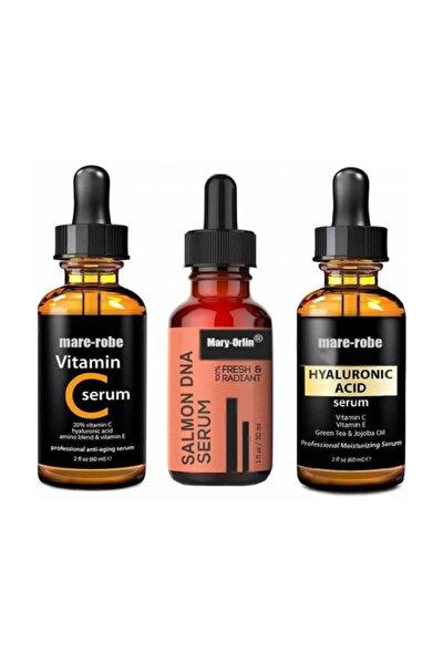 Salmon Dna +hyaluronic Acidl+vitamin C 3 Lü Serum