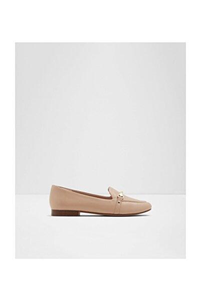 Kadın Bej Loafer Ayakkabı