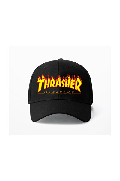 Thrasher Magazine Siyah Şapka
