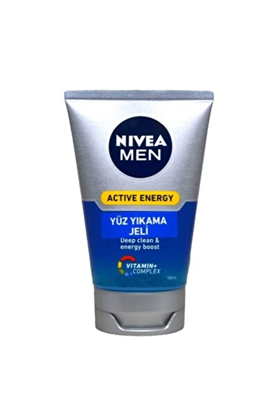 Men Active Energy Yüz Yıkama Jeli 100 ml