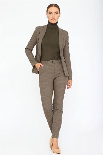 Kadın Vizon Kemeri Verev Pantolon K20PA048