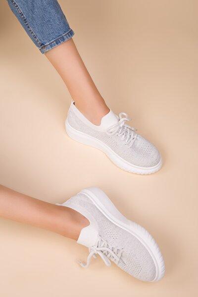 Beyaz Kadın Casual Ayakkabı 14951