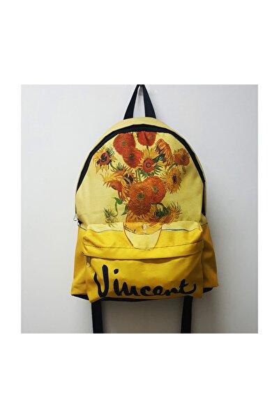 Vincent Van Gogh - Sunflowers Sırt Çantası