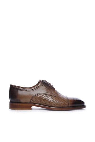 Hakiki Deri Kahverengi Erkek Klasik Ayakkabı 425 54M ERK AYK
