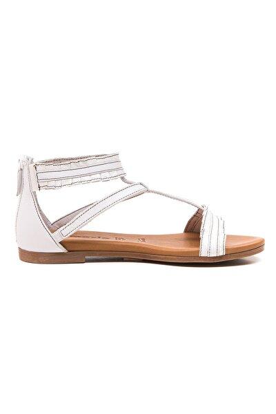 Sandalet Terlik Beyaz
