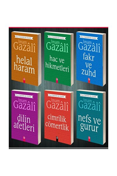 Imam Gazali'den Hayatınıza Rehber Olacak 6 Kitaplık Set