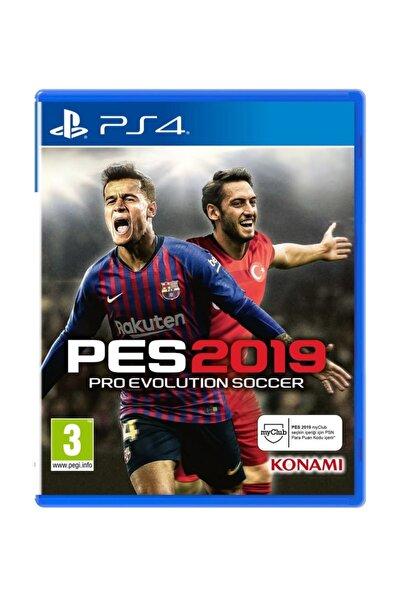 PES 2019 PS4 Oyun - Türkçe Menü