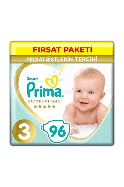 Bebek Bezi Premium Care 3 Beden 96 Adet Midi Fırsat Paketi