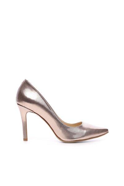 Pembe Kadın Vegan Stiletto Ayakkabı 22 278 BN AYK