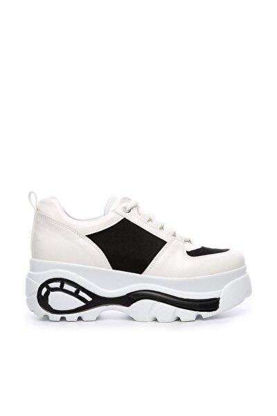 Beyaz Kadın Sunı Casual Ayakkabı 402 07 TR BN AYK