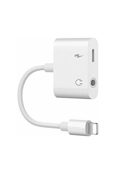 Iphone Ipad Lightning Kulaklık Ve Şarj Çevirici Dönüştürücü Çoğaltıcı Kablo 6 7 8 X Xs Xs Ma