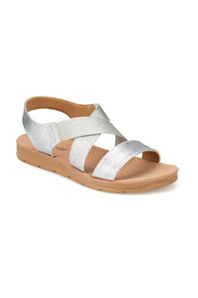 91.150787pz Gümüş Kadın Sandalet