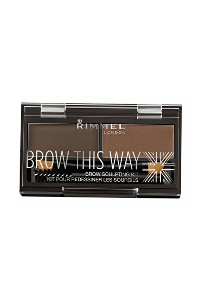 Kaş Kiti - Brow This Way Kit Dark Brown 3607344535044
