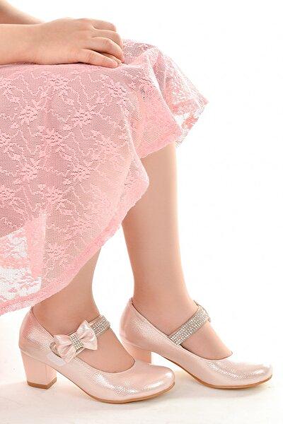 Kiko 752 Vakko Günlük Kız Çocuk 4 cm Topuk Babet Ayakkabı