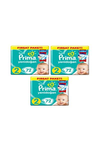 Bebek Bezi Aktif Bebek 2 Beden 216 Adet Fırsat Paketi
