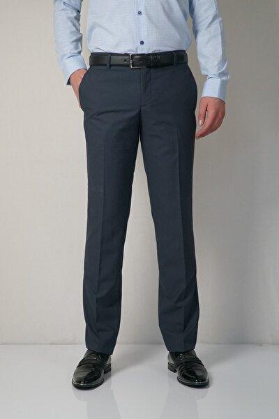 Slım Petek Desenlı Kumaş Pantolon