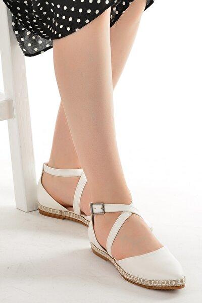 Kadın  Cilt Günlük Anatomik Babet Ayakkabı 177-36