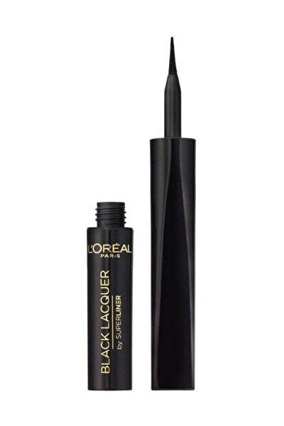 Suya Dayanıklı Siyah Eyeliner - Super Liner Black Lacquer Waterproof Eyeliner 6 ml 3600522025252