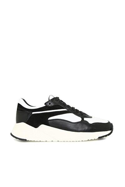 Divarese Hakiki Deri Kadın Siyah Sneaker 7004770