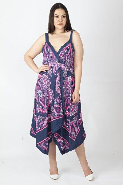 Kadın Fujya Mendil Elbise 65N15983