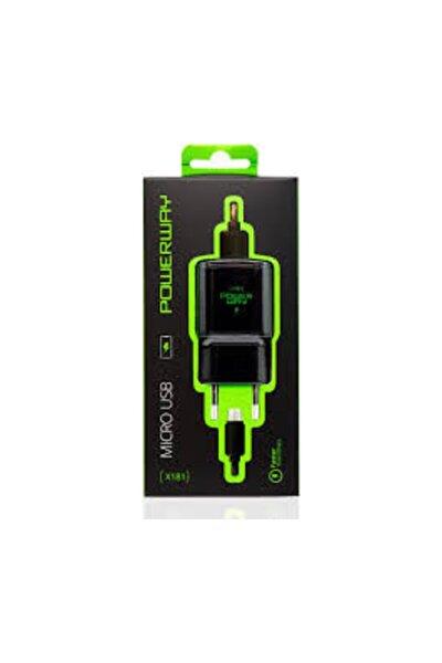 X181 Micro Usb Hızlı Şarj Aleti Ve Kablosu