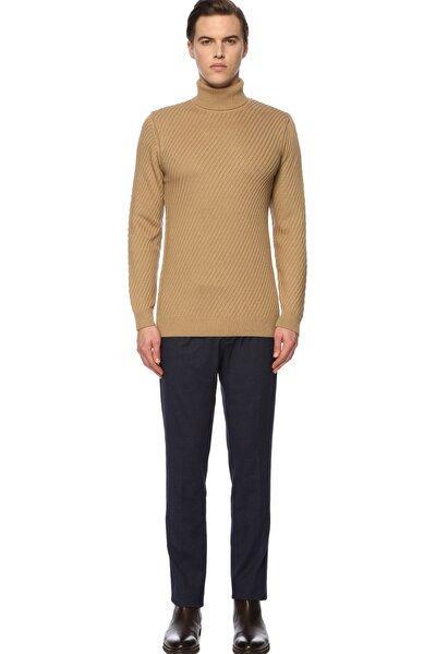Erkek Slim Fit Lacivert Pantolon 1070541