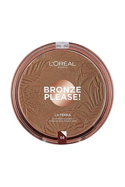 Bronzlaştırıcı Pudra - Bronze Please! Taormina Intenso 04