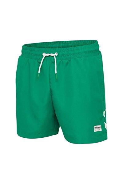 Erkek Yeşil Rence Deniz Şortu