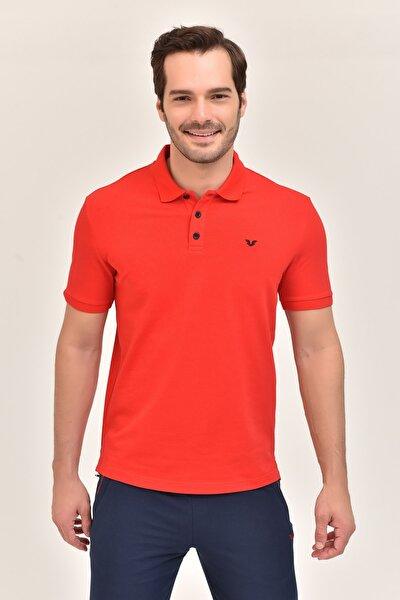 Kırmızı Erkek Polo Yaka T-Shirt GS-8982