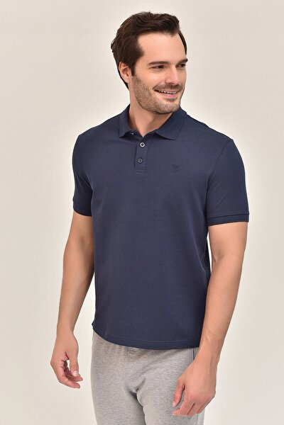 Lacivert Erkek Polo Yaka T-Shirt GS-8982