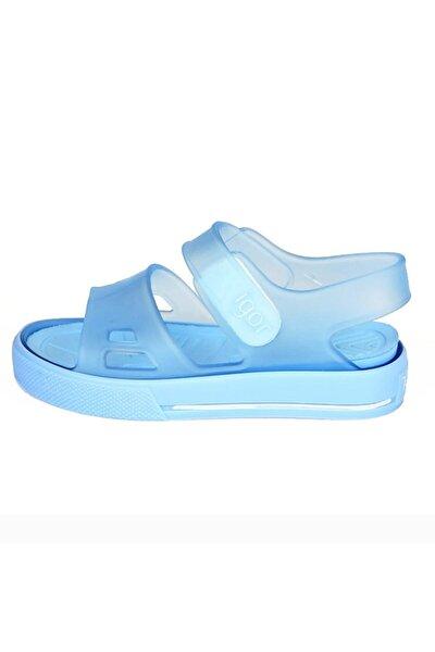 Kız Çocuk Mavi S10247 Malibu Mc Havuz  Sandalet Deniz Ayakkabısı