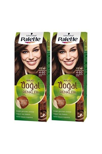 Kalıcı Doğal Renkler 4-60 Açık Çikolata Kahve X 2 Adet