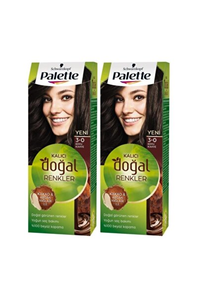 Kalıcı Doğal Renkler 3-0 Koyu Kakao X 2 Adet