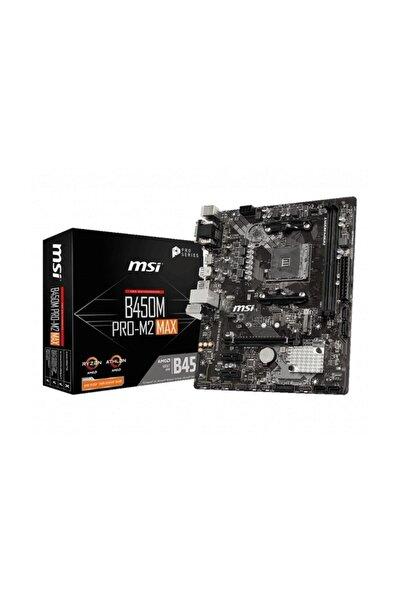 B450m Pro-m2 Max Amd B450 Soket Am4 Ddr4 3466(oc)mhz Matx Gaming Anakart