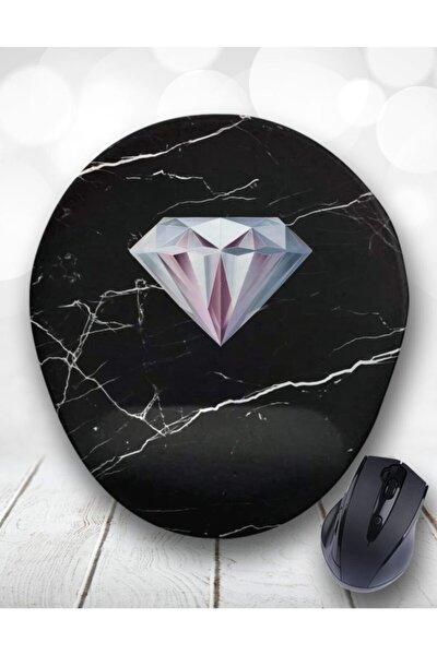 Diamond Pırlanta Bilek Destekli Mouse Pad