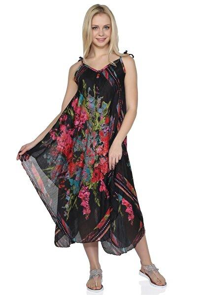Afrodit Elbise Pano Desen Els62401sle