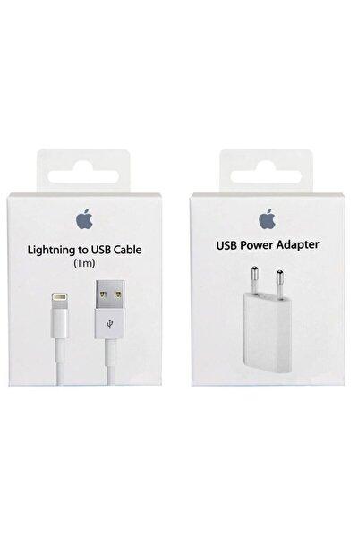 Apple Iphone Orjinal Şarj Aleti 5/5s/6/6s/7/7plus X/xs/xs Max (kablo + Adaptör)