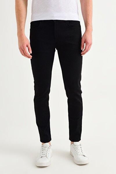 Erkek Siyah Slim Fit Jean Pantolon A01Y3507