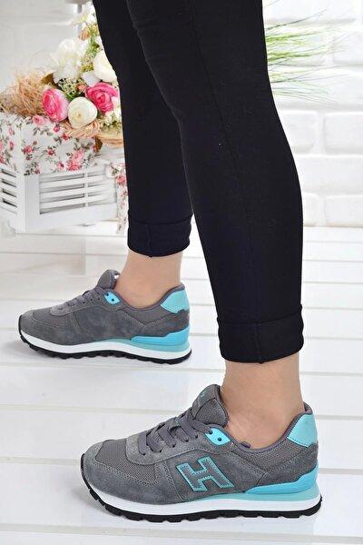 Hammerjack 102 19250 G Peru Nubuk Deri Kadın Spor Ayakkabı 20ysporham00004