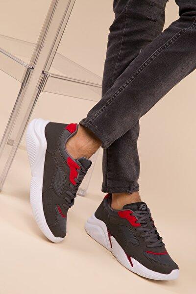 Fume-Kırmızı Erkek Sneaker 3011