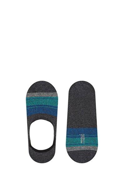 Erkek Çizgili Antrasit Çorap 092037-25817