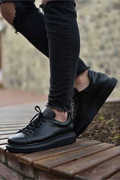 St Erkek Ayakkabı Siyah Ch257
