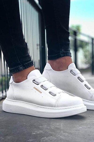 Bt Erkek Ayakkabı Beyaz Ch253