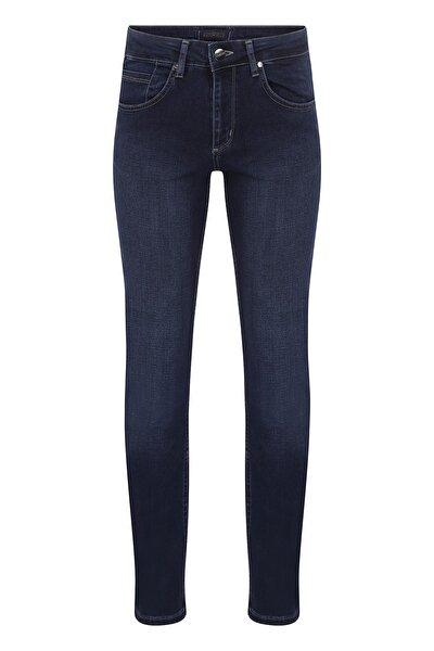 Erkek Lacivert Regular Fit Kot Pantolon