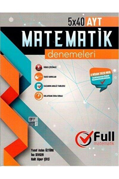 Matematik Yayınları Ayt Matematik 15 X 40 Özel Denemeleri
