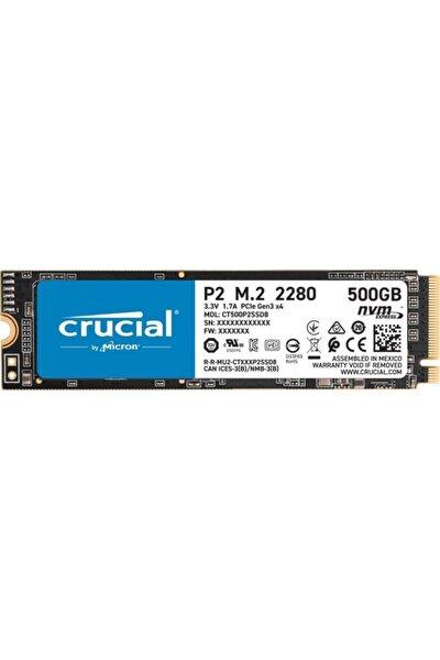 P2 500gb Nvme Pcıe M2 Ssd (2300-940 Mb/s) Ct500p2ssd8