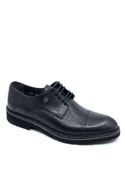 Hakiki Deri Erkek Ayakkabı  Siyah  1060 46