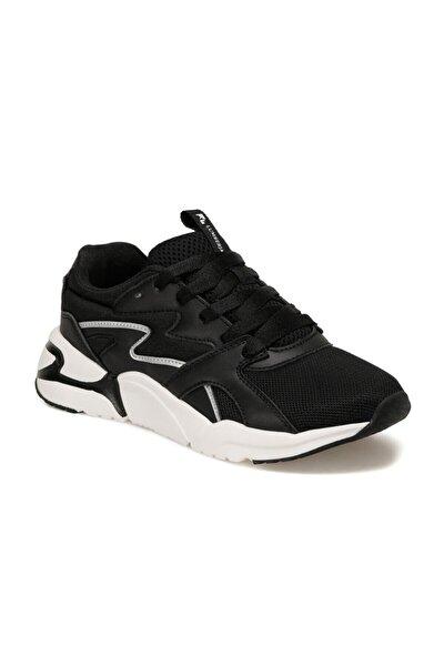 Puzzle Siyah Kadın Sneaker Ayakkabı