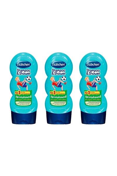Sport Çocuk Şampuanı Ve Duş Jeli 230 Ml X 3 Adet