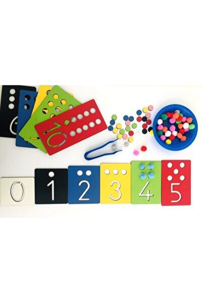 Montessori Rakam Öğrenme Seti